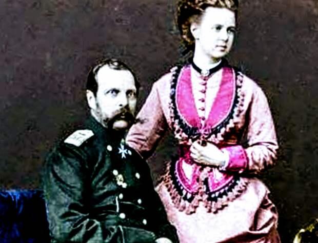 Александр и Екатерина Долгорукая