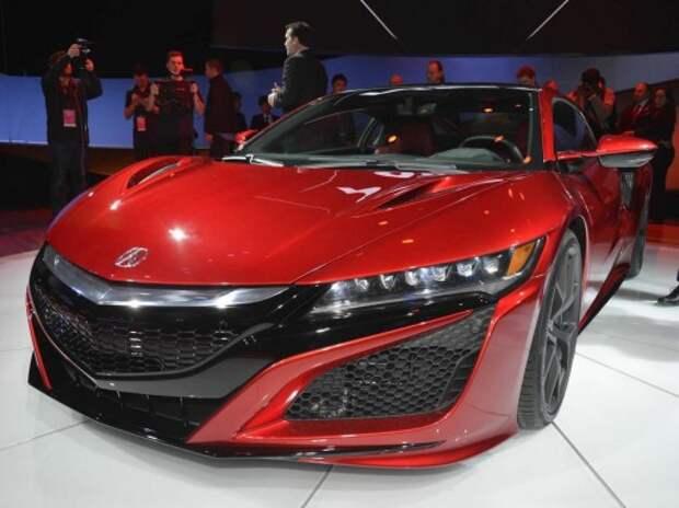 Детройт поприветствовал четырехмоторный спорткар Acura NSX
