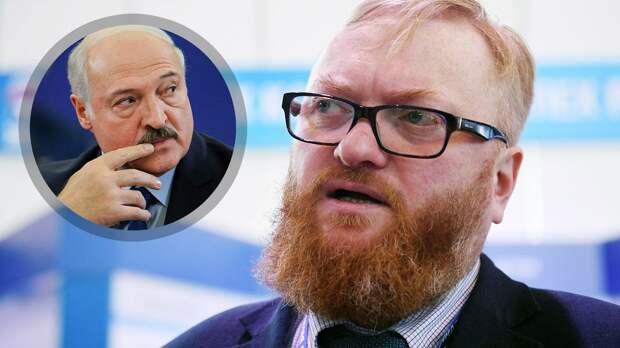 Милонов оценил лишение Белоруссии чемпионата мира: «Худшие традиции холодной войны, просто негодяи»