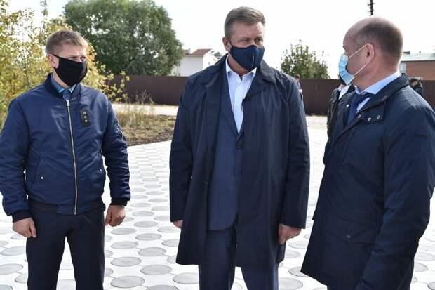 Губернатор Любимов подвёл итоги поездки в Милославский район