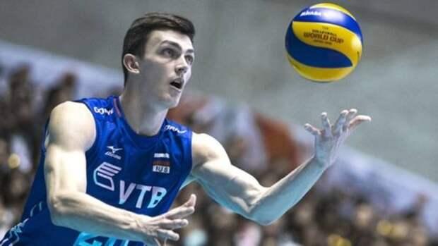 Алтайский волейболист вновь сыграет за сборную России