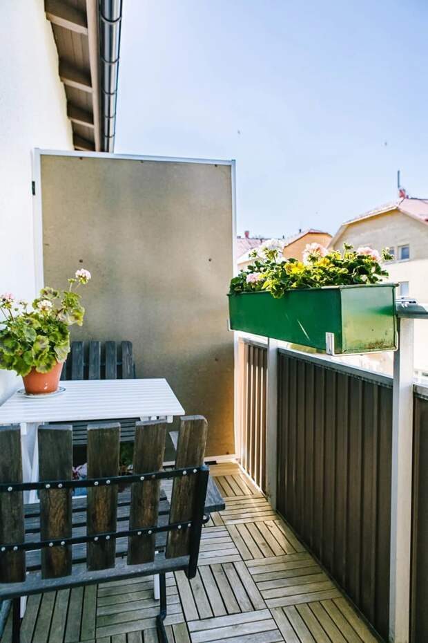10 шикарных идей для маленьких балконов