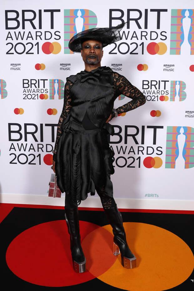 Дуа Липа, Элтон Джон, Тейлор Свифт, Билли Портер и другие на премии BRIT Awards 2021