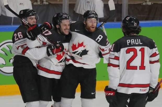 Сборная Канады стала первым финалистом чемпионата мира по хоккею
