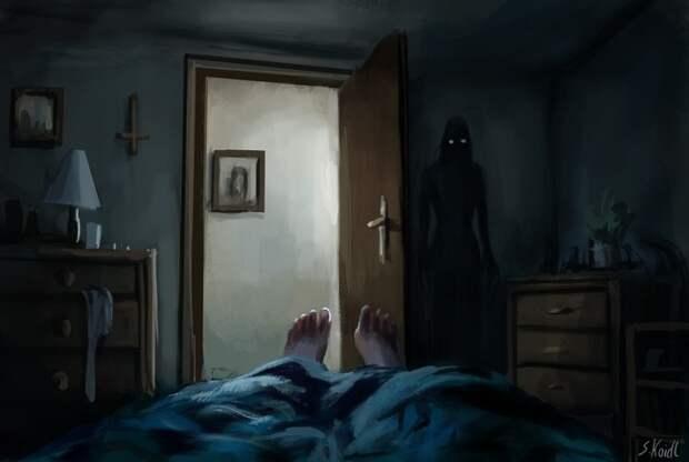 16 страшных картин, от которых сначала нельзя оторвать взгляд, а потом невозможно уснуть
