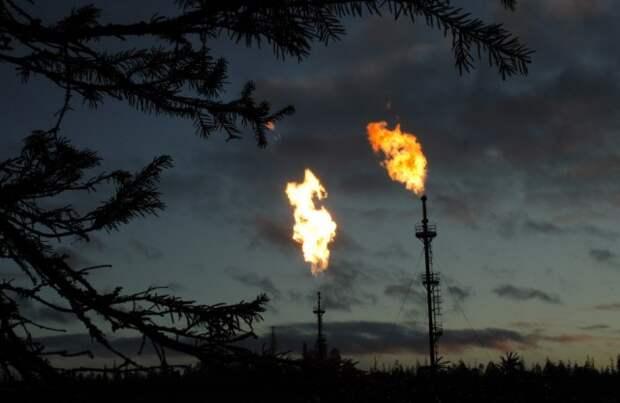 Попутный газ выбросы метан сжигание