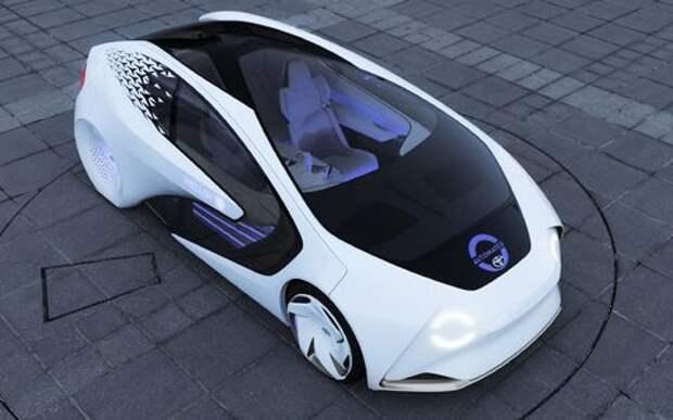 Toyota Concept-i: научите ее хорошему