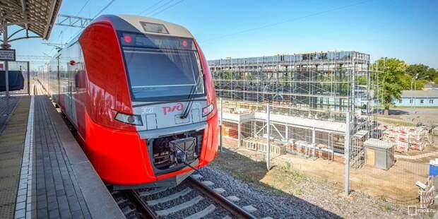 Расписание поездов от ж/д станции «Текстильщики» изменится на выходные июля