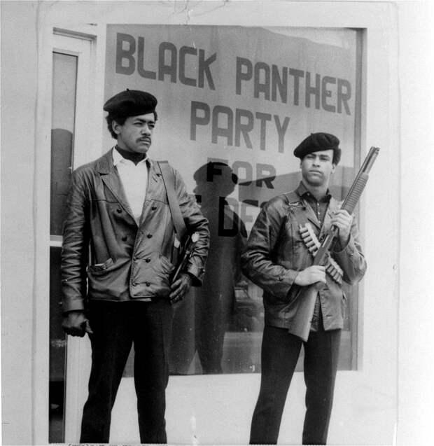 Социальные конфронтации в США 1960-х - 1970-х годов: Леворадикальная Партия черных пантер   (25)
