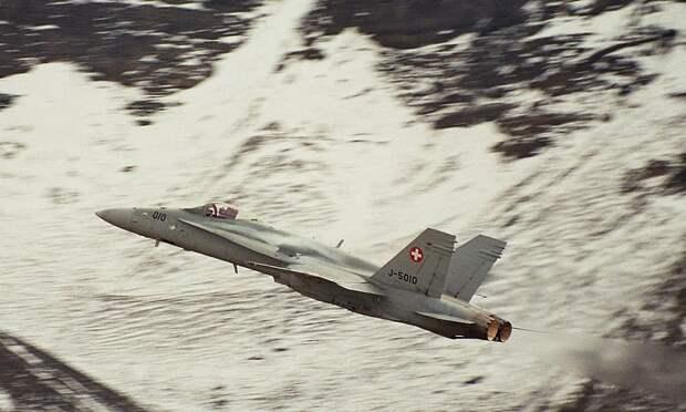 ВВС Швейцарии. Против всех!