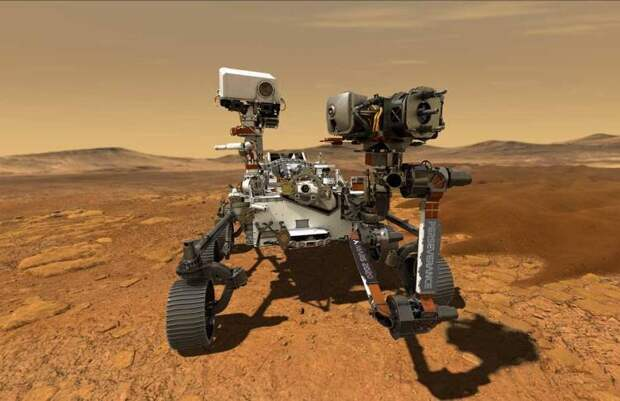Марсоход Perseverance / Изображение: NASA