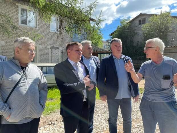 ВУрене началось благоустройство дворовой территории понацпроекту «Жилье игородская среда»