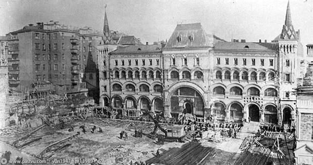 Как раньше передвигали дома вМоскве