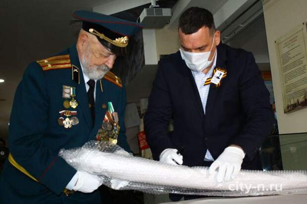 Воинская реликвия поможет Новокузнецку