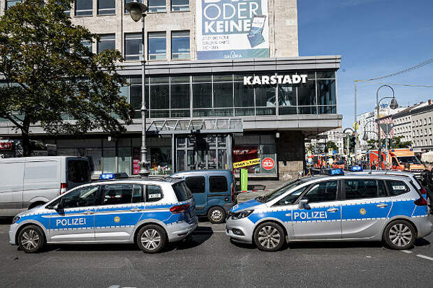 На ТЦ в Берлине напали налетчики, пострадало множество людей
