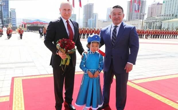 Дружба между Россией и Монголией стала ещё крепче