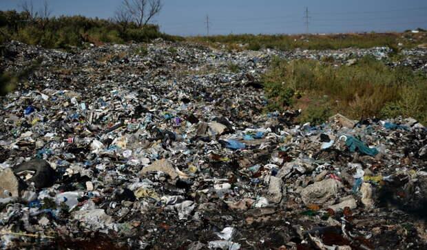 В Оренбурге тлеет мусорный полигон, но превышений ПДК не зафиксировано