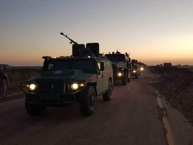 Захватчики бегут, Армия России вошла в зону оккупации НАТО на реке Евфрат в Сирии (ФОТО)