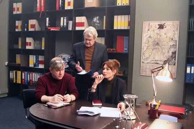 Леонид Кулагин и Алёна Спивак снимаются в детективе «Кулагины»