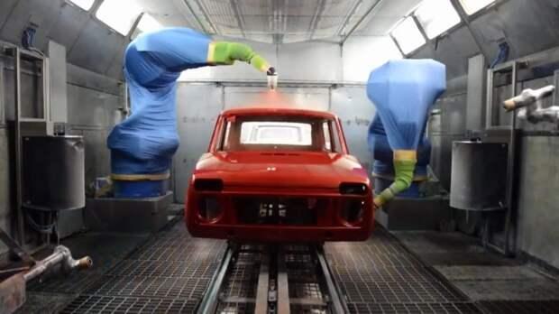 АвтоВАЗ показал, как красят кузов одного из самых популярных внедорожников в России