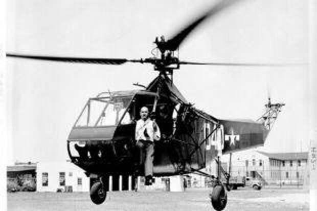 «Взбивалка для яиц» идет в бой. Вертолеты появились на фронте в 1944 г.