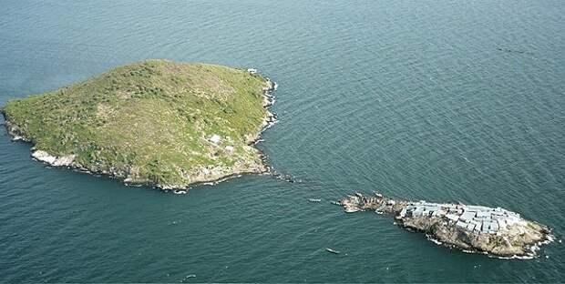 Усинго – большой остров всего в 200 метрах от Мгинго до сих пор не заселен
