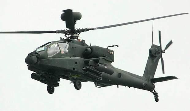 Вертолеты Apache замечены в Сирии во время учений армии США