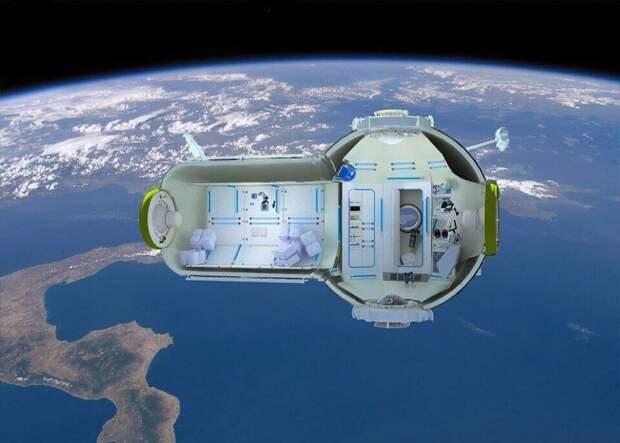 На МКС хотят построить космический отель