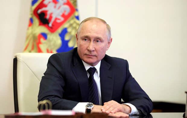 Путин принял участие в переписи населения онлайн