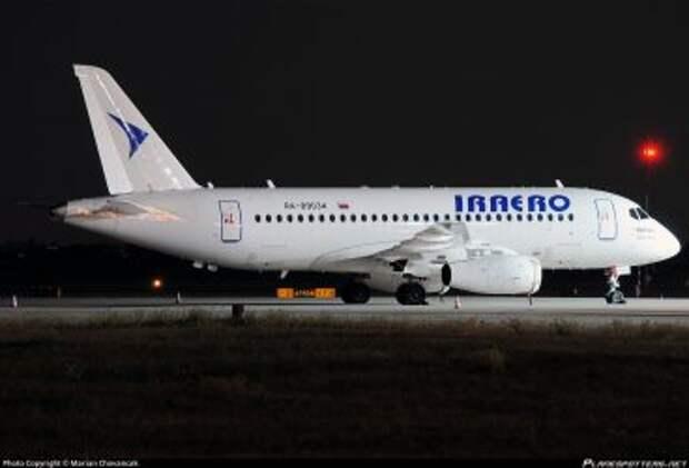 Sukhoi Superjet 100-95LR авиакомпании IrAero