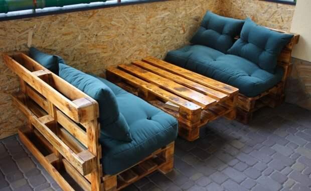 20 примеров великолепной мебели из поддонов