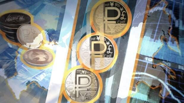 Названы три ключевых фактора, влияющие на курс рубля