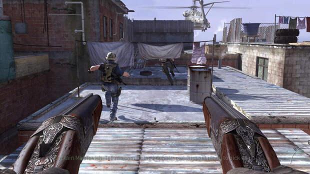 Винчестер модели 1887 «Акимбо» – Call Of Duty: Modern Warfare 2