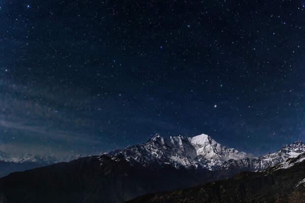 Когда долго смотришь на звезды, кажется, что звезды тоже смотрят на тебя, завораживают, зовут за собой.