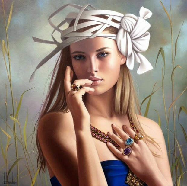 Kанадская художница Ginette Beaulieu
