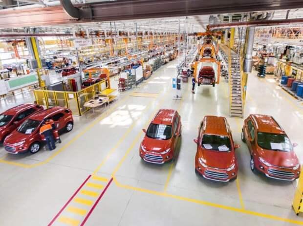 Ford Sollers может временно остановить заводы во Всеволожске и Набережных Челнах