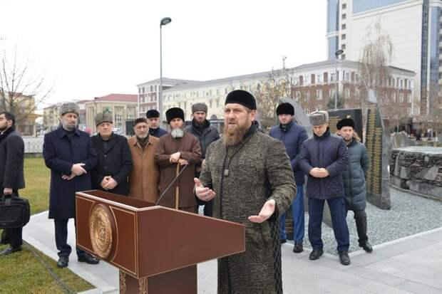 В Грозном состоялся митинг в память жертвам политических репрессий