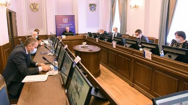 ВЗаксобрании обсудили состояние ииспользование водных объектов Ростовской области