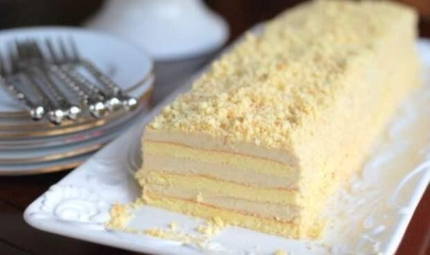 Торт Славянка. Лакомство с невероятно вкусным кремом 2