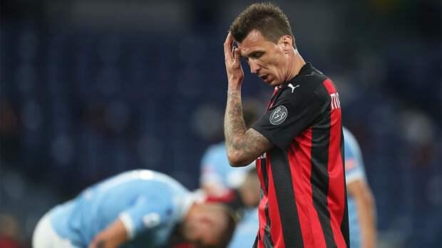 Манджукич объявил об уходе из «Милана». Он провел в клубе 6 месяцев