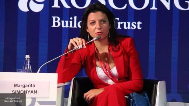 Симонян одной фразой Путина ответила на включение в санкционный список США