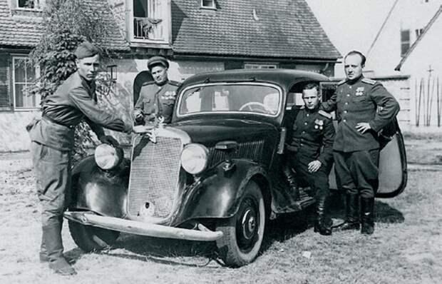 Трофейные автомобили из Германии и почему их было не так уж и много.