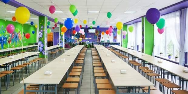 Осенью в учебном корпусе «Дубровка» откроется школьный ресторан