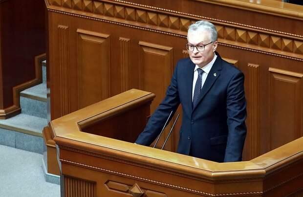 Президент Литвы объяснил высылку российских дипломатов из страны