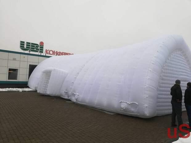 Pneumoframe Inflatable Rescue Tent Надувная спасательная палатка