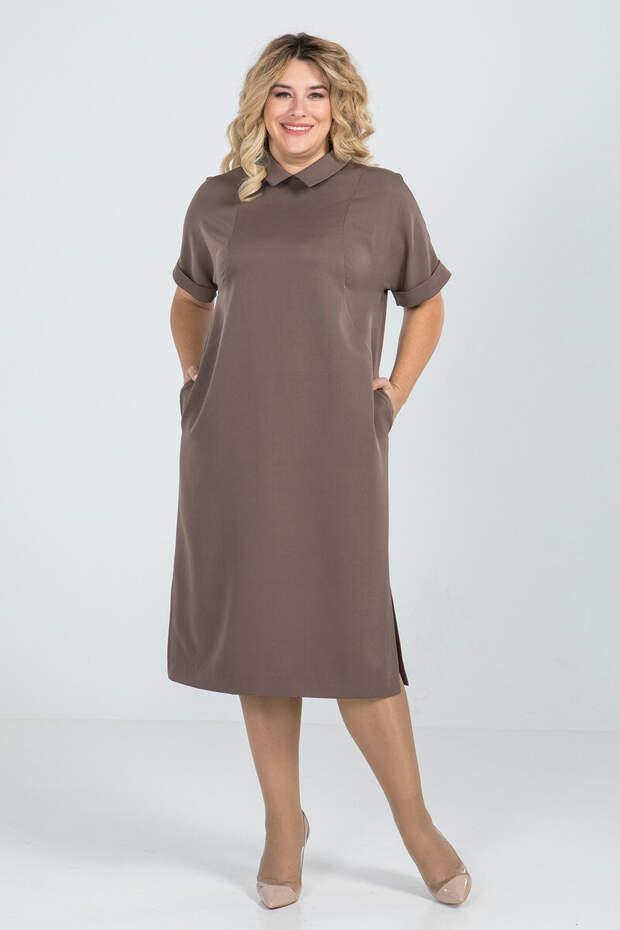 Как выглядеть стильно: платья для полных женщин 50-60 лет