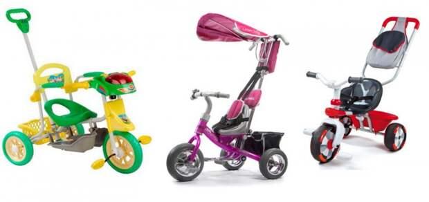 Выбираем детский велосипед с ручкой