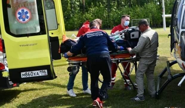 Крайне тяжелое состояние диагностируют медики у пострадавших в Лесном