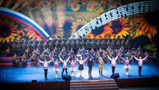 Ансамбль песни и пляски ВДВ в праздничные дни проведет концерты в честь 9 Мая