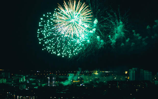 Праздничные мероприятия ко Дню Победы в Рязани завершил салют